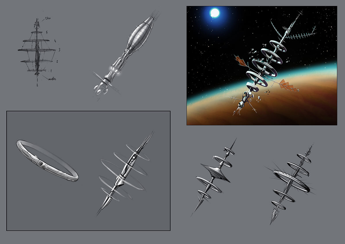Estacion_Espacial_Bocetos