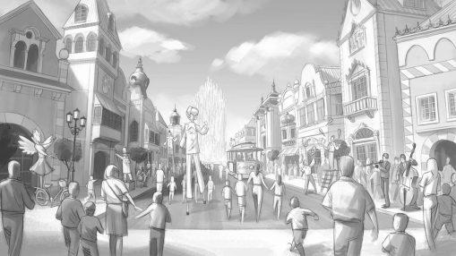 concept art theme park
